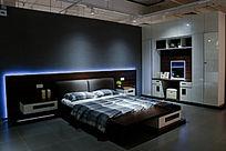 现代感卧室