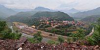 漳河岸边的村庄