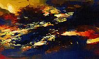 爆款抽象油画高清图片