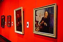 欧式名画展览