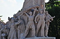 天安门广场工农兵雕像
