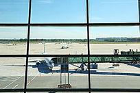 T3航站楼玻璃幕墙外景