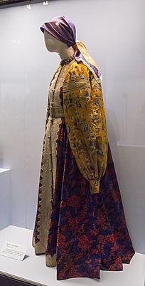 奥伦堡哥萨克女性服饰展品