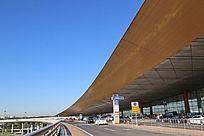 北京T3航站楼出发大厅外景