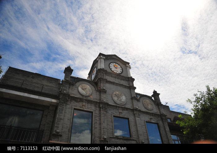 欧式钟楼图片,高清大图