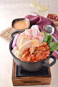 泡菜豚肉火锅