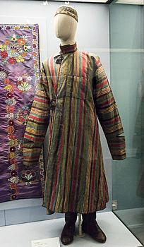 鞑靼人男性服饰