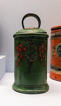 桦树皮篮子展品