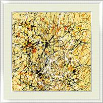 现代风格装饰画 抽象油画