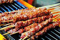 香辣羊肉串