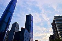 城市高楼景观图