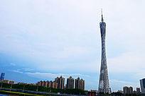 广州小蛮腰白天景色