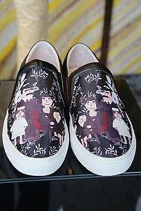 花纹男款休闲鞋