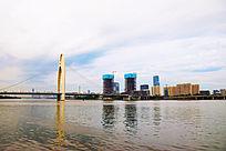 猎德大桥远景图