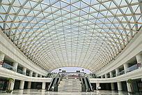 南昌高铁南站出发大厅穹顶