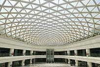 南昌高铁南站球形玻璃穹顶