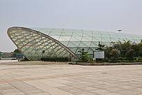 南昌高铁西站玻璃穹顶