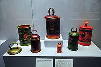 苏联桦树皮篮子器皿