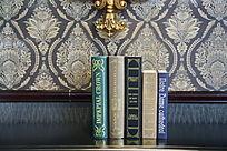 外文书籍背景墙