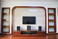 家装电视墙背景