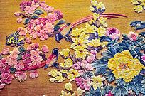 梅花地毯图案