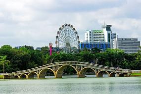 南湖九拱桥