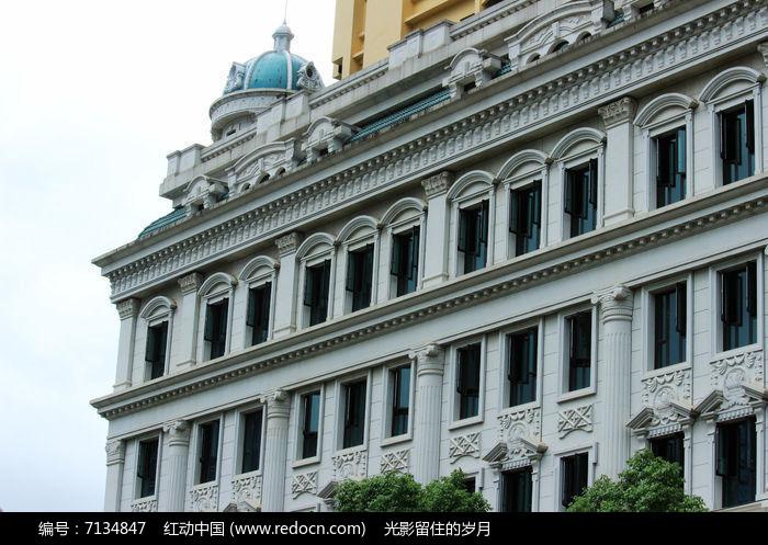 欧式建筑外墙浮雕图片