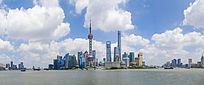 上海东方明珠陆家嘴全景