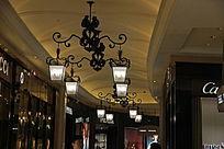 商业中心之灯饰