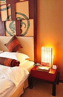 温馨的酒店客房