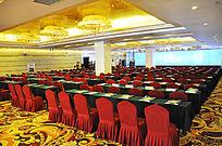 五星级酒店华丽会议厅宴会厅