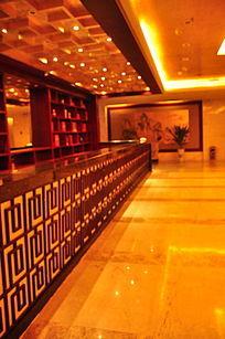 五星级酒店华丽酒店收银台