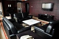 五星级酒店总统套房客厅