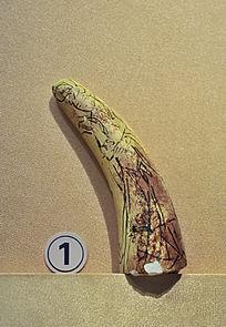 燕京八绝之象牙雕刻制作程序画样