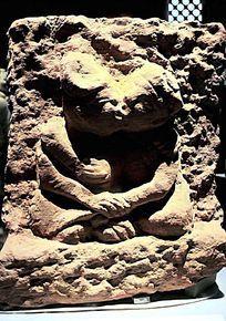 东汉时期石雕男女拥抱像