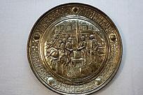俄罗斯黄铜挂件