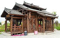 古典风格小木屋