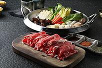 韩式牛里脊火锅