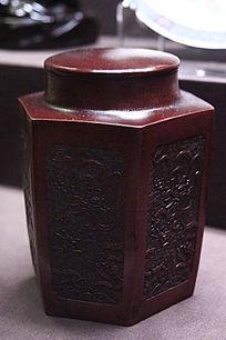 龙戏珠茶叶罐