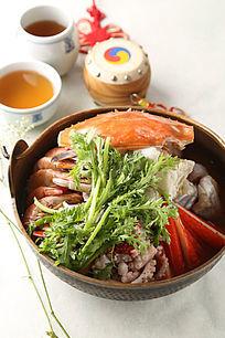 日式海鲜火锅