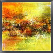 现代抽象画 抽象油画 酒店装饰画