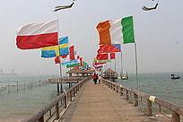 湛江特呈海岛木桥