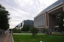 北京长安街沿线建筑