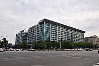 北京长安街中国工商银行总行