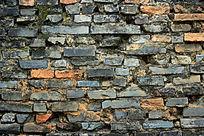 古砖墙背景