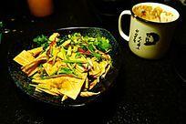 豆腐皮凉伴