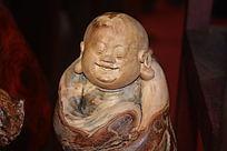 佛像雕刻特写