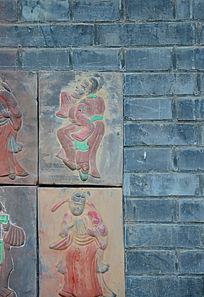 古典歌舞壁画