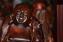 红木木雕特写