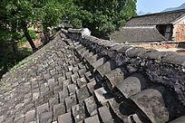 河南农村民居上的屋脊
